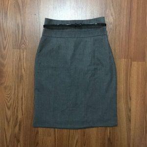 H&M: high waist pencil skirt